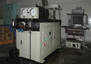 Bearing life testing machine